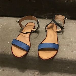 Tommy Hilfiger 7.5 leather sandal